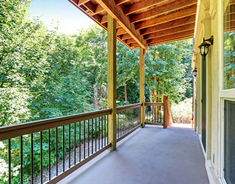 Silverbrooke - Etkin and Co. Property Management - house-forest-porch
